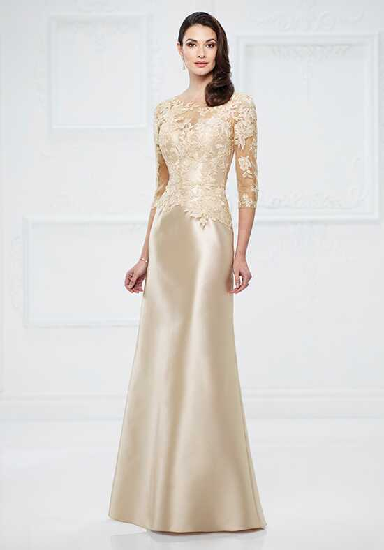 Montage by Mon Cheri 217955 Champagne Mother Of The Bride Dress