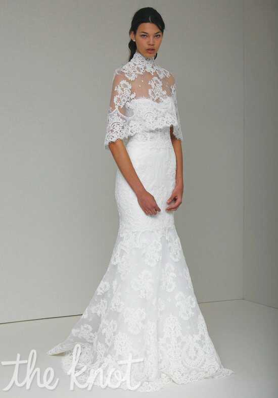 Monique Lhuillier Arielle Mermaid Wedding Dress