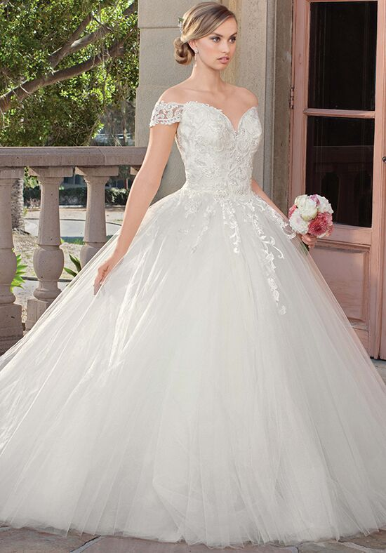 Casablanca Bridal 2312 Gracie Ball Gown Wedding Dress