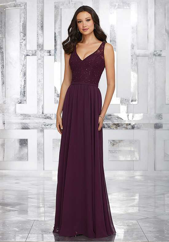Morilee by Madeline Gardner Bridesmaids Style 21546 V-Neck Bridesmaid Dress