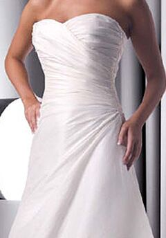 DaVinci Bridal 8251 A-Line Wedding Dress