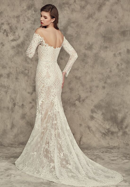 Calla Blanche 16246 Alicia Sheath Wedding Dress