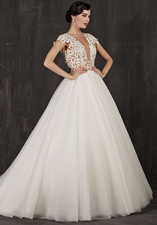 Calla Blanche 16108 Elise Ball Gown Wedding Dress