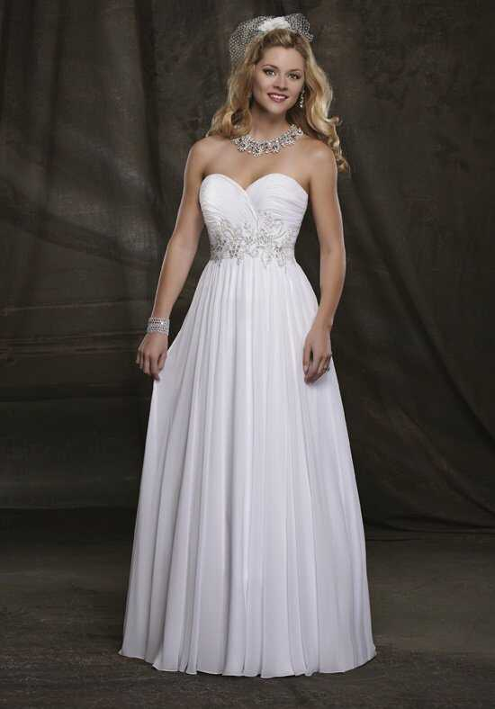 1 Wedding by Mary's Bridal 2503 A-Line Wedding Dress
