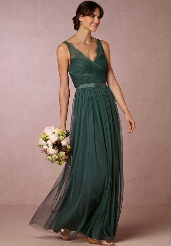 BHLDN (Bridesmaids) Fleur Dress - Dusty Emerald Bridesmaid Dress photo