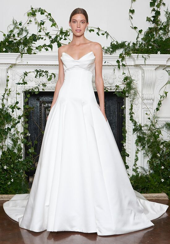 Monique Lhuillier Kingsley A-Line Wedding Dress
