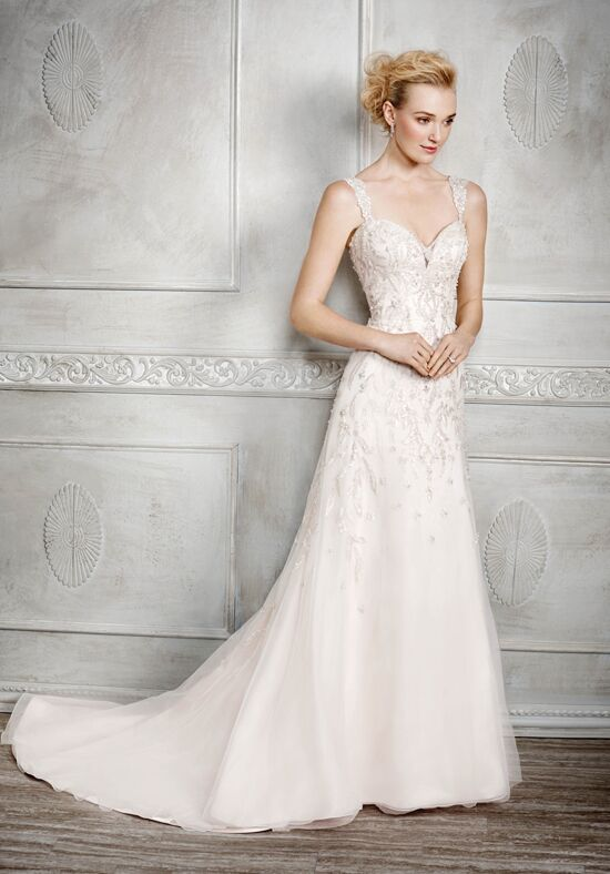 Kenneth Winston 1673 Sheath Wedding Dress