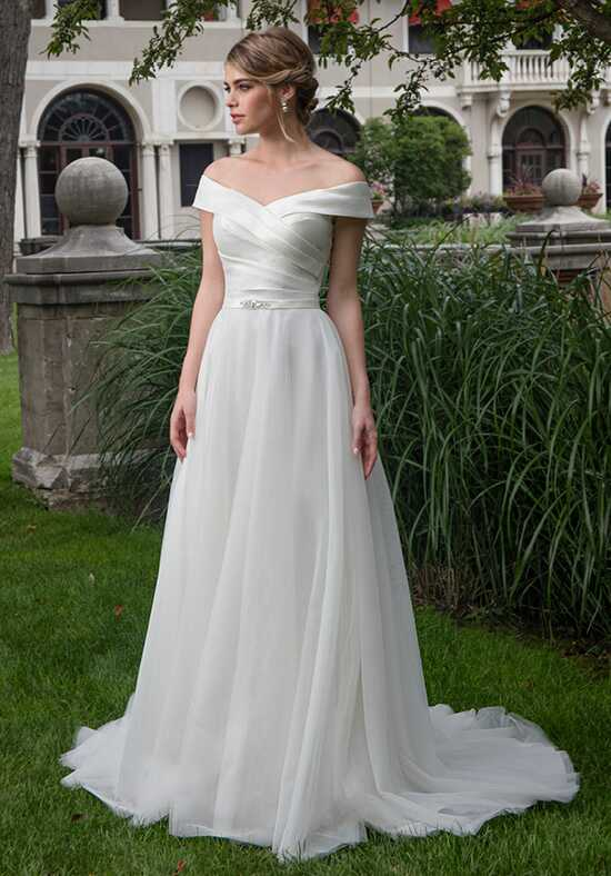 Moda Bella by Mary's Bridal MB2015 A-Line Wedding Dress