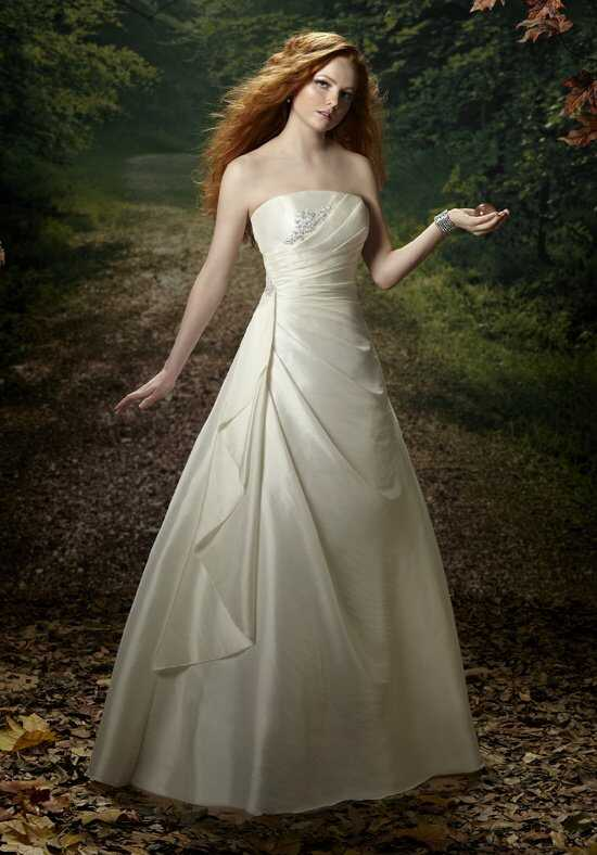 1 Wedding by Mary's Bridal 2401 A-Line Wedding Dress