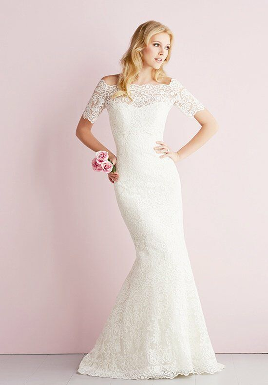 Allure Romance 2700 Sheath Wedding Dress