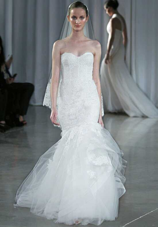 Monique Lhuillier Sonnet Mermaid Wedding Dress