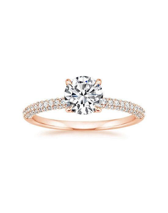 Brilliant Earth Lissome Diamond Ring Engagement Ring The Knot