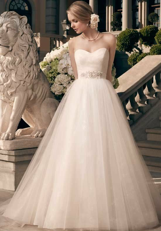 Casablanca Bridal 2177 Ball Gown Wedding Dress