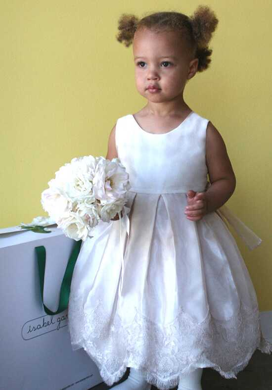 Isabel Garretón Chantilly Ivory Flower Girl Dress