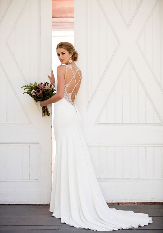 Martina Liana 964 Sheath Wedding Dress