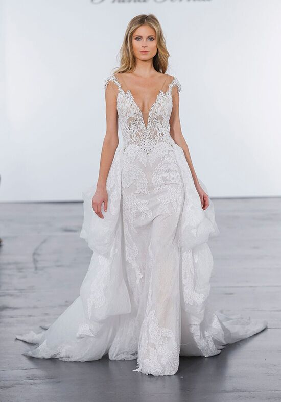 Pnina Tornai for Kleinfeld 4624 Sheath Wedding Dress