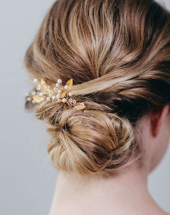 Davie & Chiyo | Hair Accessories & Veils Iverness Hairpin Gold, Pink, Silver Pins, Combs + Clip