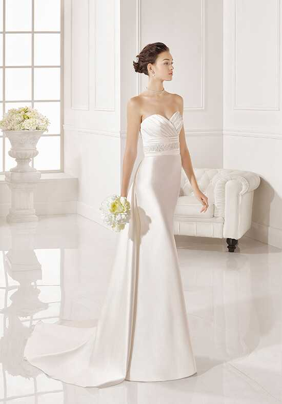 Adriana Alier Zoe Sheath Wedding Dress