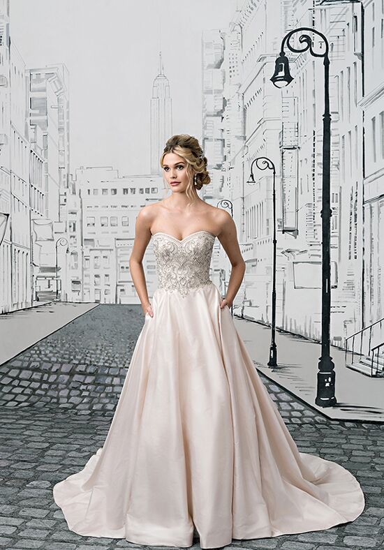 Justin Alexander 8883 Ball Gown Wedding Dress