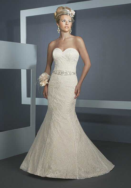 1 Wedding by Mary's Bridal 3Y296 Mermaid Wedding Dress