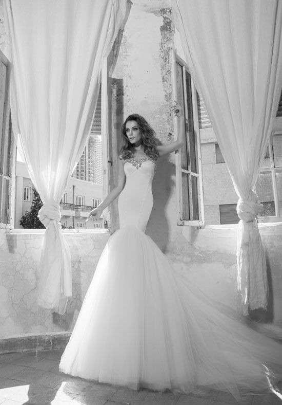 LOVE by Pnina Tornai for Kleinfeld 33243270 Mermaid Wedding Dress