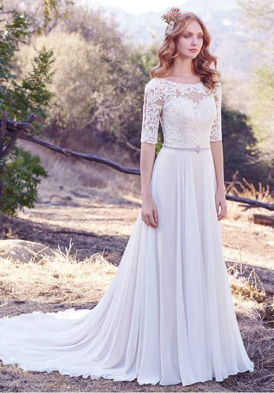 Maggie Sottero Darcy A-Line Wedding Dress