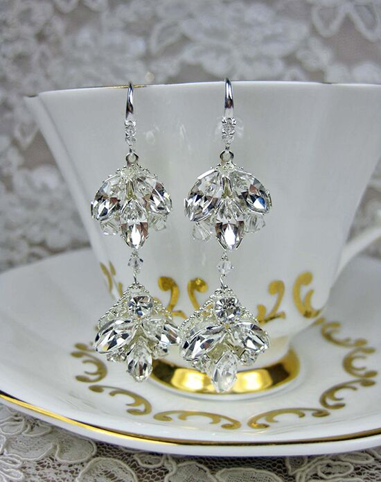Everything Angelic Chandra Earrings - e304 crystal Wedding Earring photo