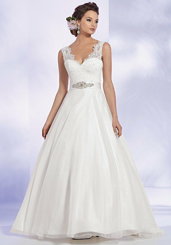 Reflections By Jordan M449 Ball Gown Wedding Dress