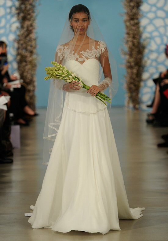 Oscar de la Renta Bridal 2014 Look 11 A-Line Wedding Dress