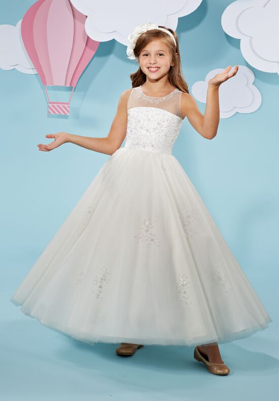 Cupids by Mary's F501 Ivory Flower Girl Dress