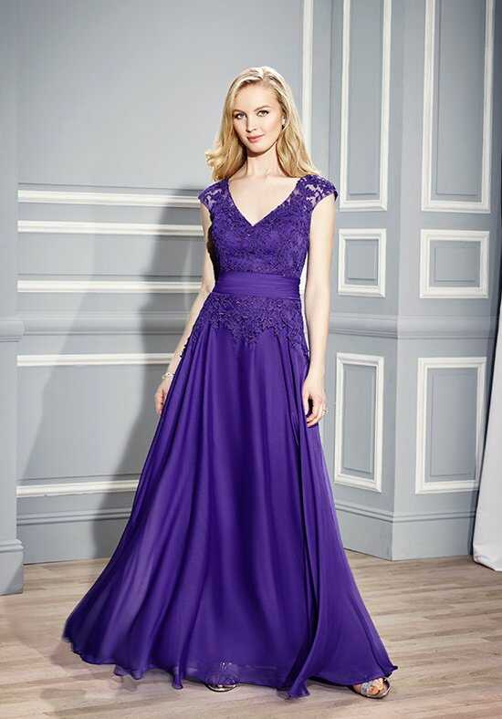 Val Stefani Celebrations MB7453 Purple Mother Of The Bride Dress