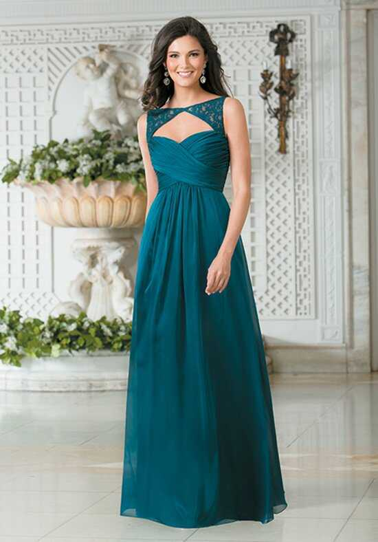 Belsoie L174003 Bateau Bridesmaid Dress