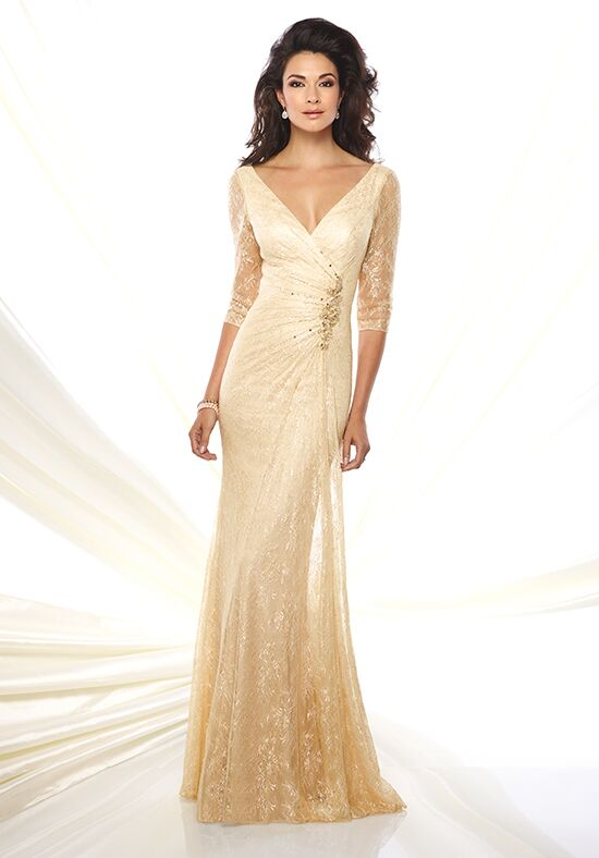 Montage by Mon Cheri 116932 Champagne Mother Of The Bride Dress