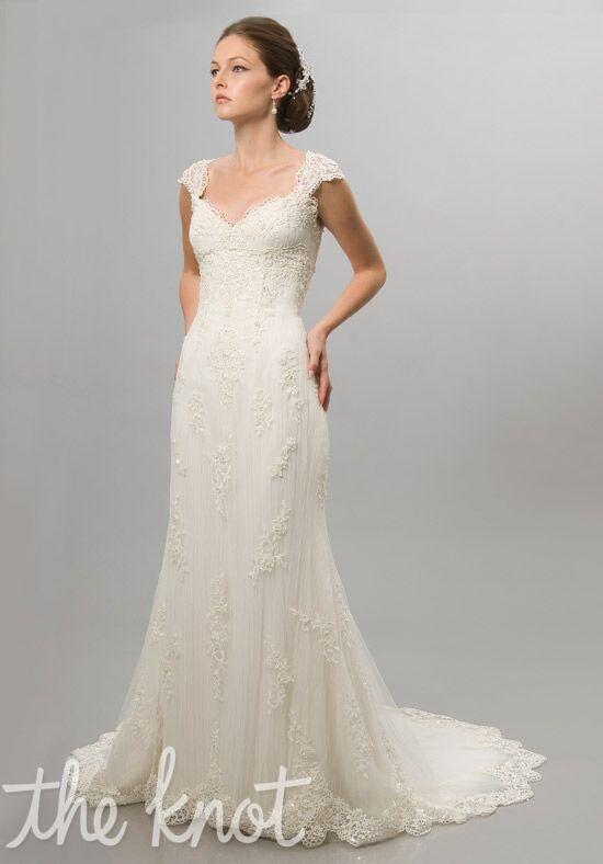 Alfred Sung Bridals 6811 Sheath Wedding Dress