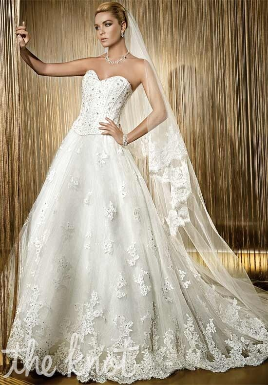 Demetrios 504 A-Line Wedding Dress