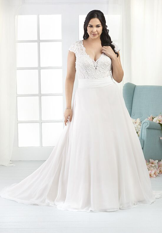 Unforgettable by Bonny Bridal 1800 A-Line Wedding Dress