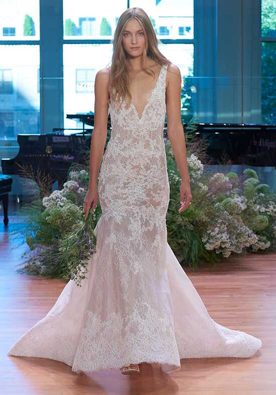 Monique Lhuillier Keaton Mermaid Wedding Dress
