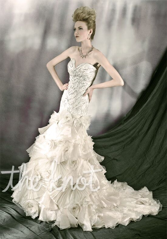 Ysa Makino 3042 Mermaid Wedding Dress