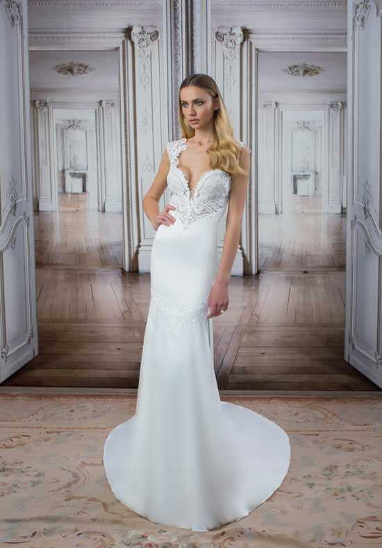 LOVE by Pnina Tornai for Kleinfeld 14421-1 Sheath Wedding Dress