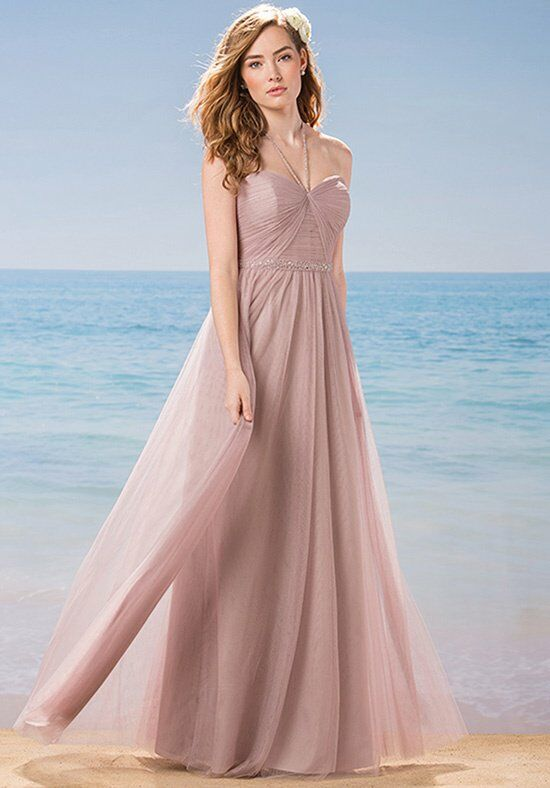 Belsoie L184010 Halter Bridesmaid Dress