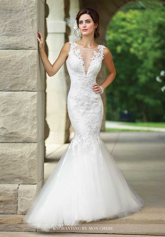 Enchanting by Mon Cheri 117182 Mermaid Wedding Dress