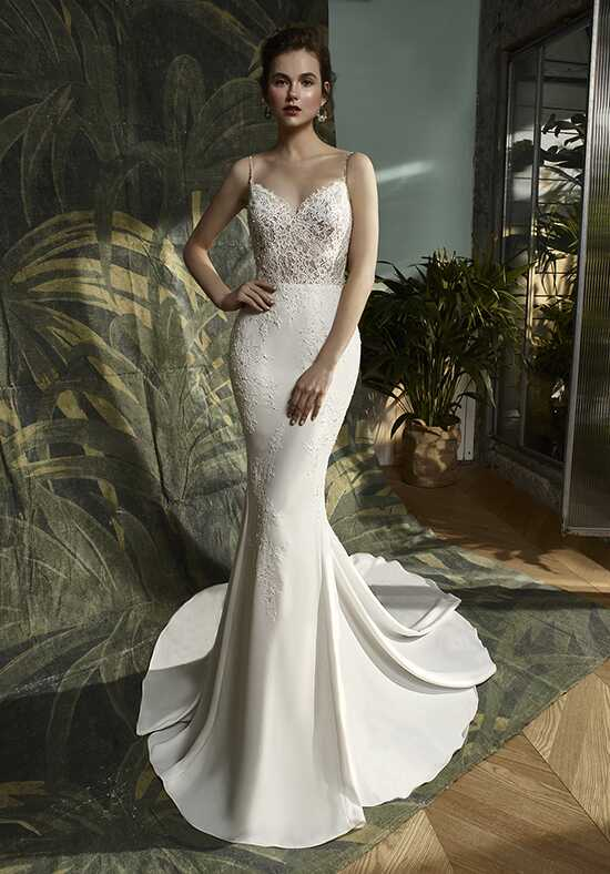 Blue by Enzoani Karter Mermaid Wedding Dress