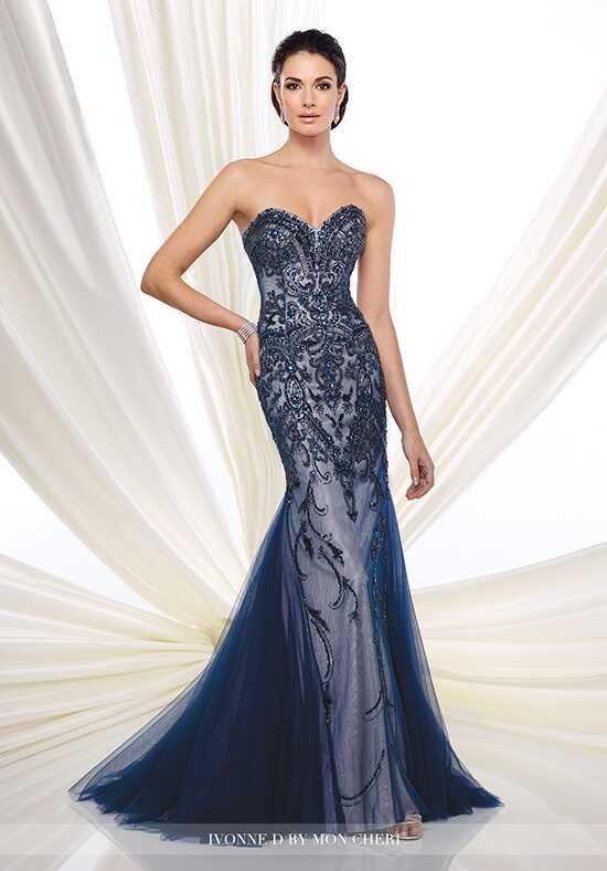 Ivonne D. 216D48 Blue Mother Of The Bride Dress