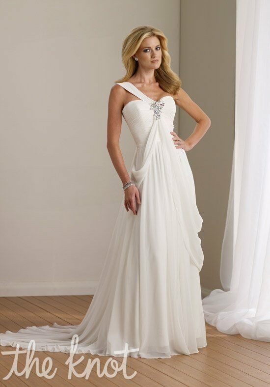 Destinations by Mon Cheri 112107 A-Line Wedding Dress