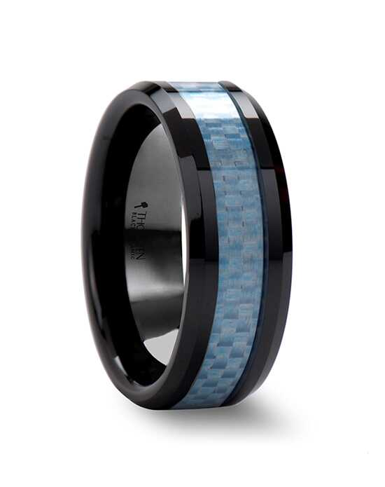 Mens Tungsten Wedding Bands C692-BCCF Tungsten Wedding Ring