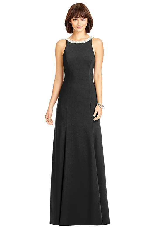 Dessy Collection 2972 Bateau Bridesmaid Dress