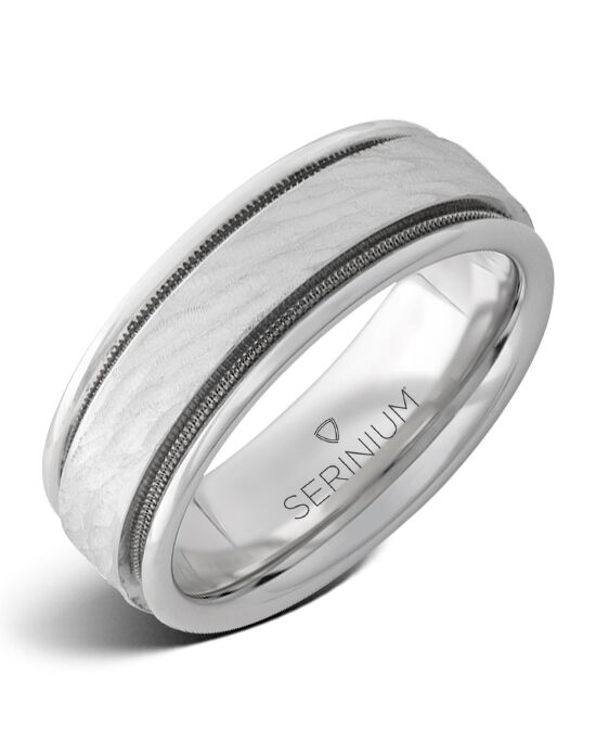 Serinium® Collection Lighthouse — Milgrain Serinium® Ring-RMSA002981 Serinium® Wedding Ring