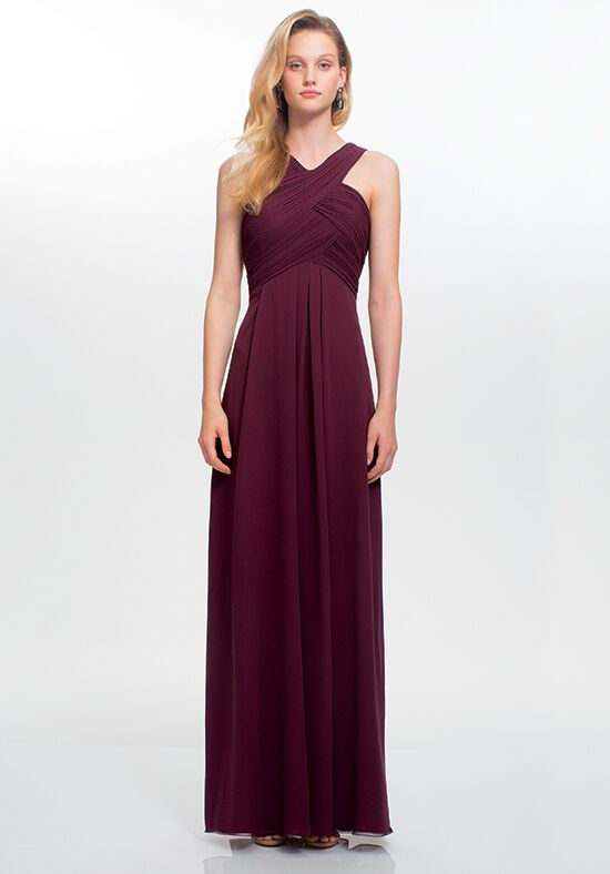 #LEVKOFF 7016 Halter Bridesmaid Dress