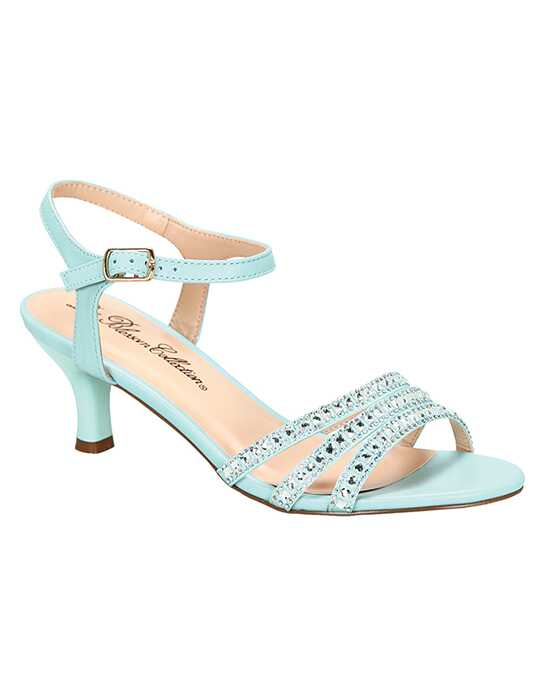 De Blossom Collection Berk-170 Blue Shoe