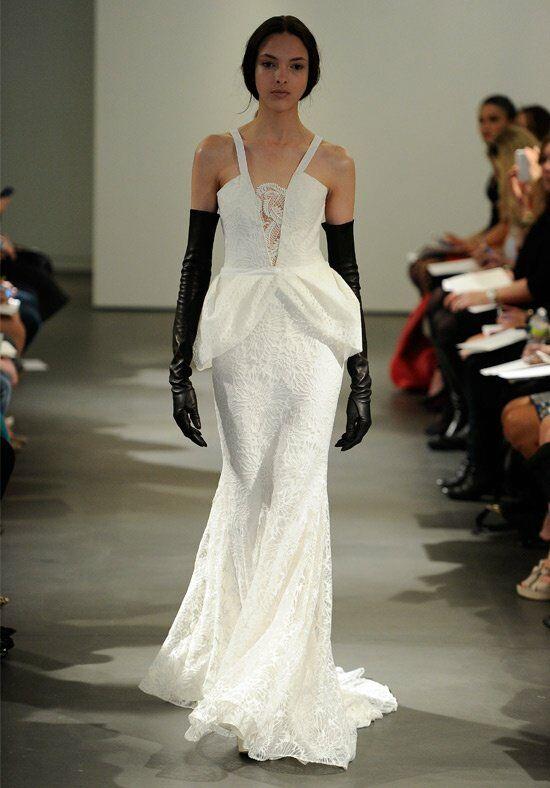 Vera wang spring 2014 look 5 wedding dress the knot for Vera wang mermaid wedding dresses